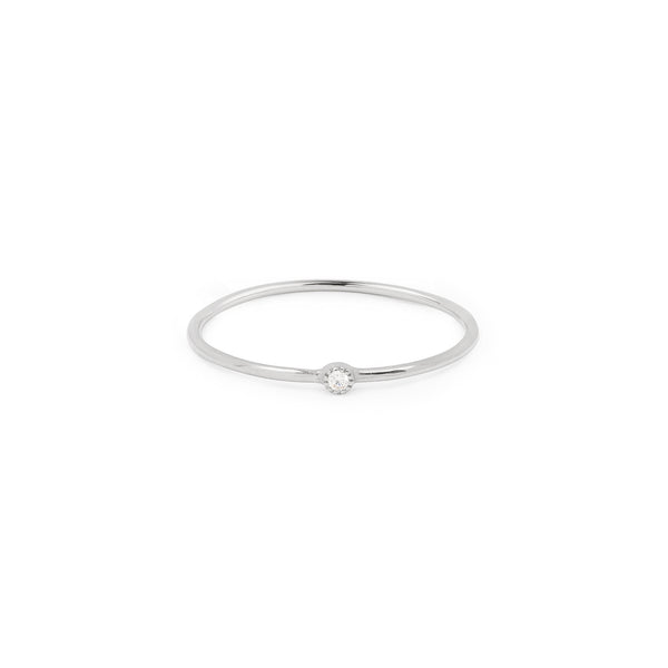 Solitaire Mini Love Ring XS Diamant