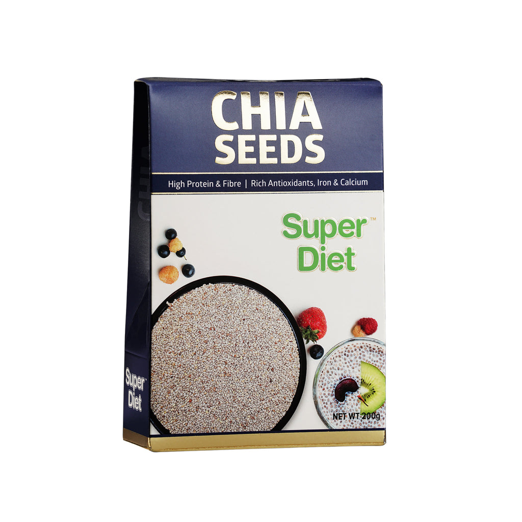 Super Diet Chia Seeds - 200 gm - fitday.in