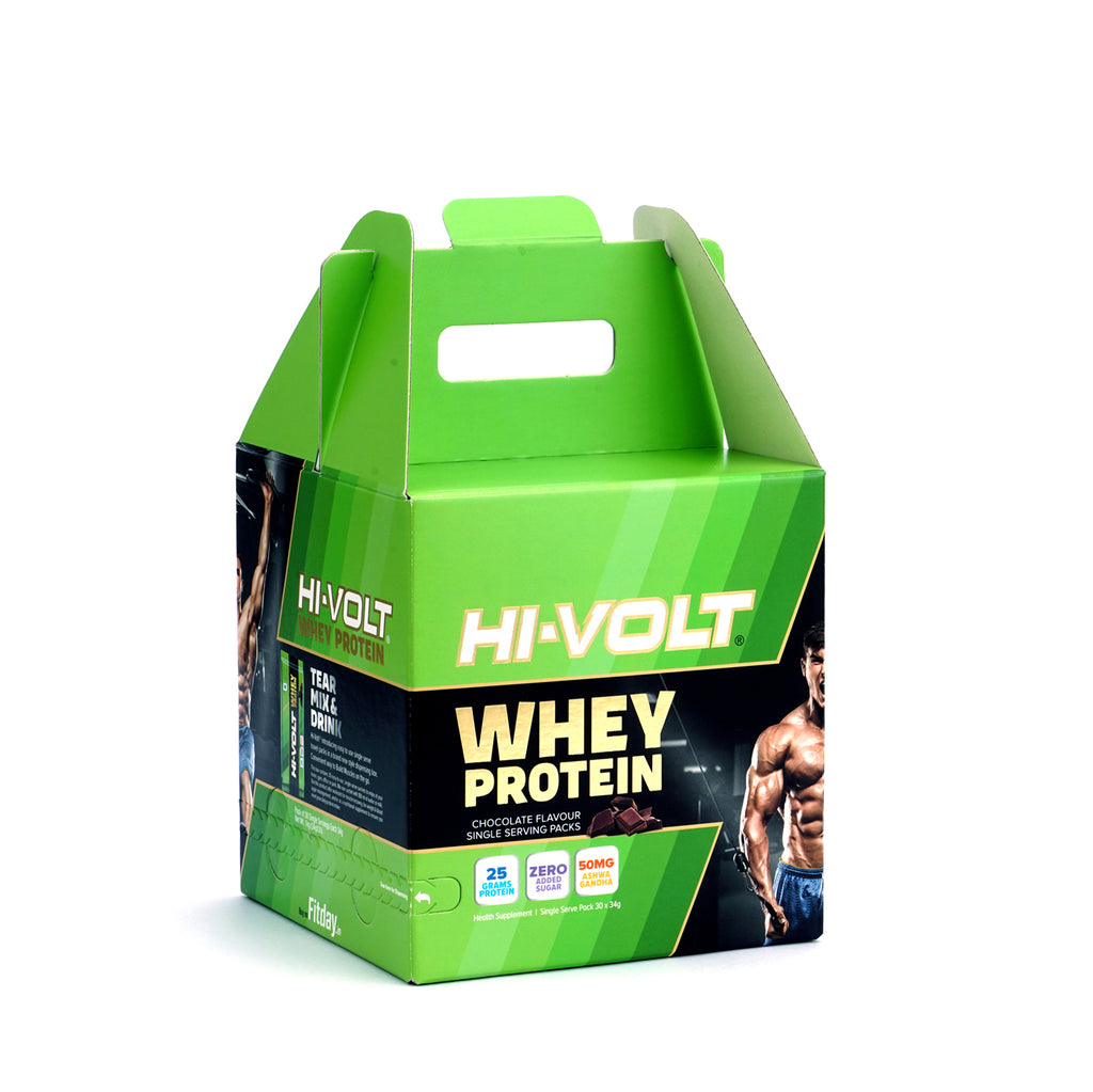 Whey Protein (Chocolate) - 1 kg - fitday.in
