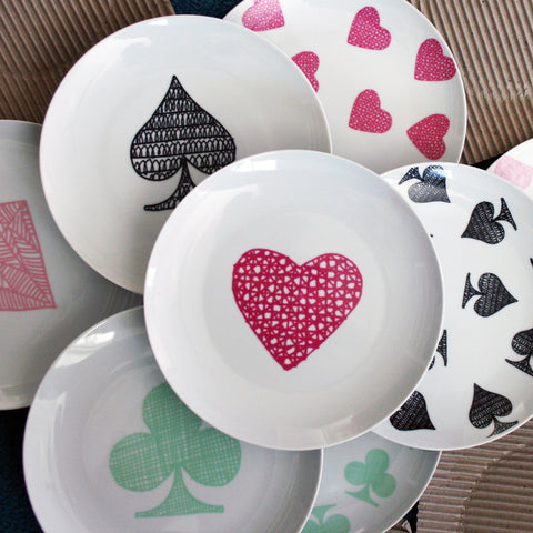 LeeAnn Yare Collected / House of Cards Plates