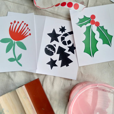 Christmas Workshop Stencils