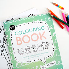 The Art Room Colouring Book - PDF DIGITAL DOWNLOAD