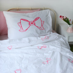***NEW*** BOW Pillowcase