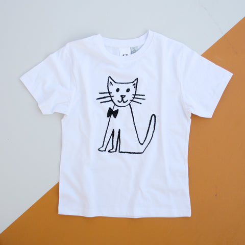 CAT Kid's T-Shirt - White