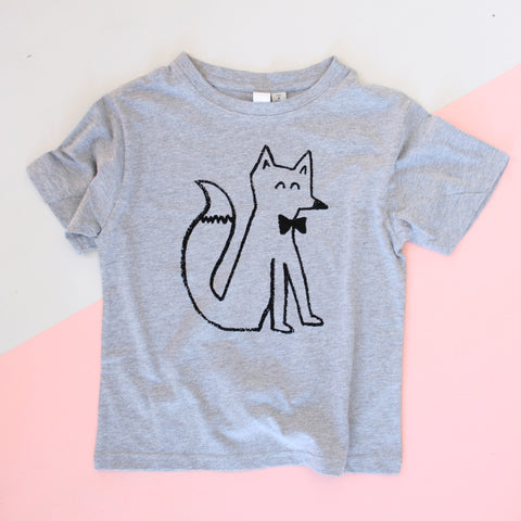 FOX Kid's T-Shirt - Grey Marle