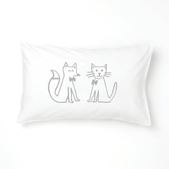 FOX & CAT Animal Friends Pillowcase