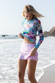 WOMEN'S SWIM SKORT - LAVENDER *NEW PRODUCT