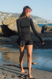 WOMEN'S SWIM SKORT - BLACK *NEW PRODUCT