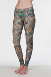WOMEN'S LEGGINGS - PEACOCK