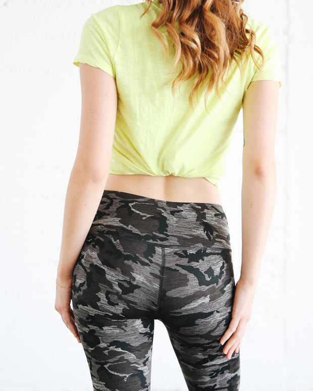 WOMEN'S HI-WAIST LEGGINGS  - STORM **NEW PRODUCT**