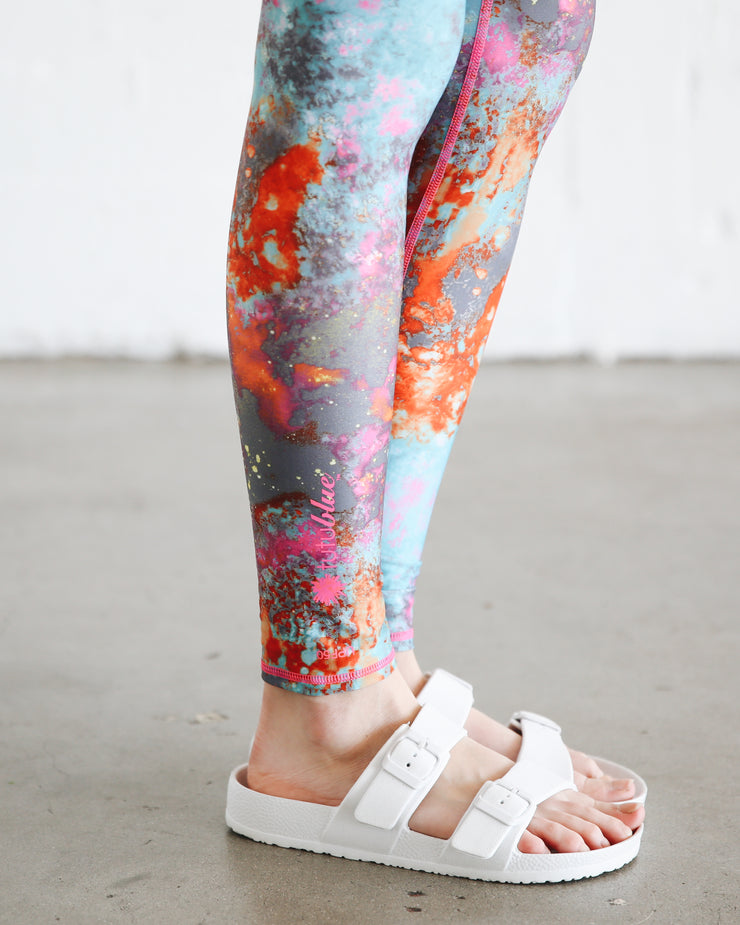 WOMEN'S HI-WAIST LEGGINGS  - KOI POND *NEW PRODUCT
