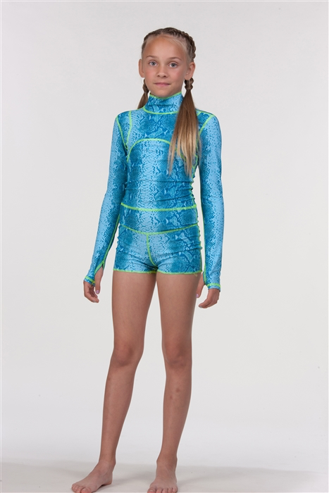 GIRL'S SHORT SWIMSUIT - AQUALUNG