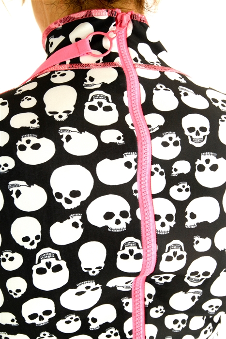 GIRL'S LONG SWIMSUIT - SKULKING AROUND *SALE*
