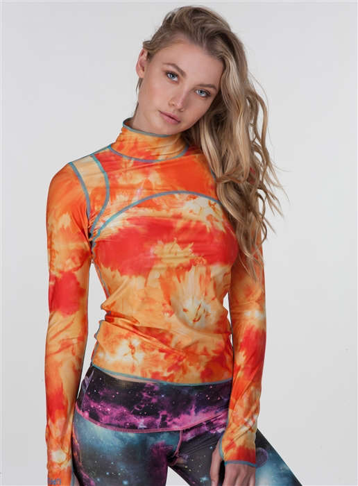 WOMEN'S PULLOVER RASH GUARD  *SALE*