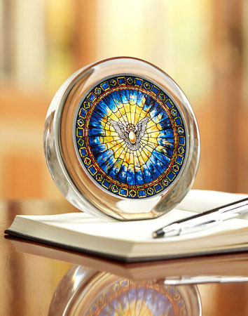 Holy Spirit Paper Weight