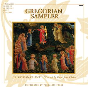 Abbey of St. Pierre de Solesmes Gregorian Chant CD