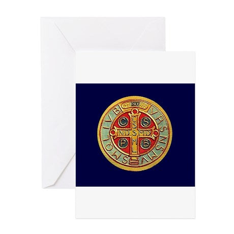Saint Benedict Note Cards