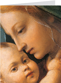Madonna & Child Fresco Christmas Cards