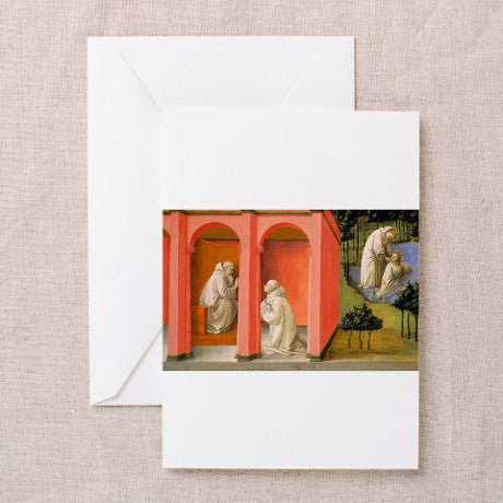 St. Benedict of Nurcia Note Card