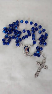 Sapphire Blue Our Lady of Fatima Rosary