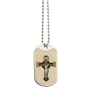 Benedictine Crucifix Dog Tags