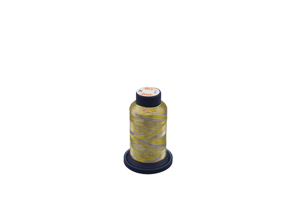 Ultrapos G Metallic #GM1, Variegated Multi-Color Gold, Green and Rust 880yds/cone