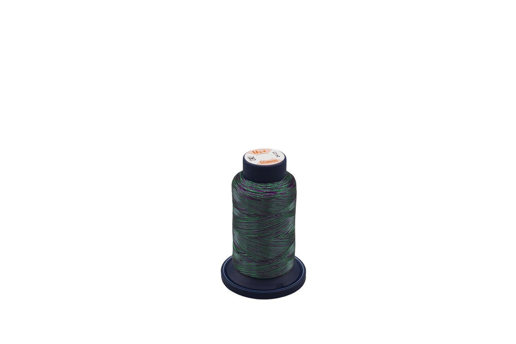 Ultrapos G Metallic #GM2, Variegated Multi-Colorark Green and Purple 880yds/cone