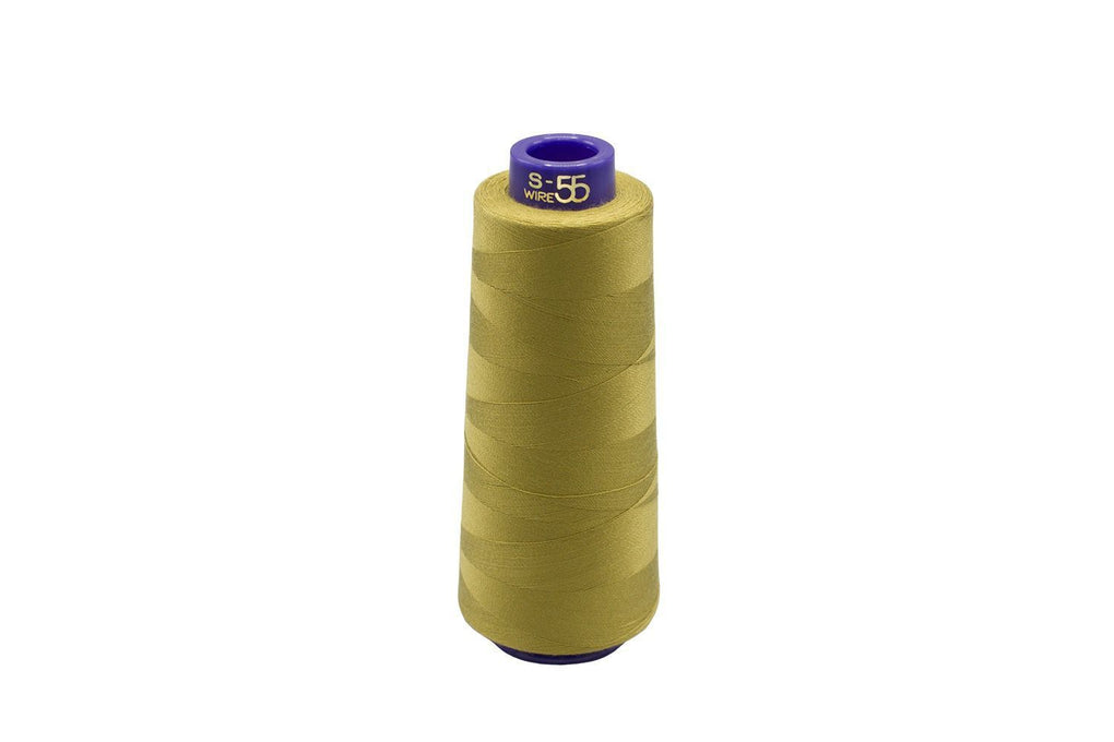 S-55 100% CUPRO Embroidery Thread, 20 Weight, #414 1100 yds/cone