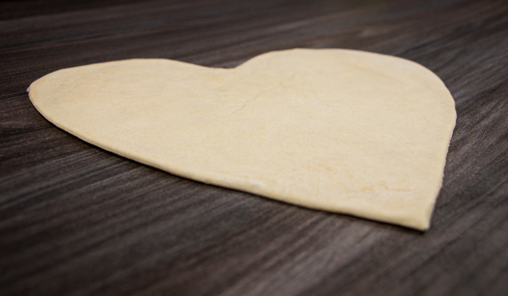 Heart Shaped Pizza Bases