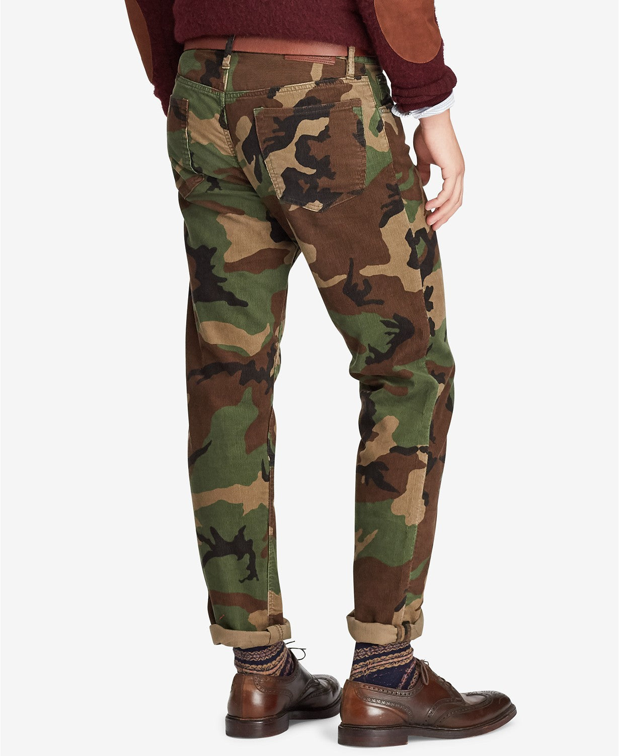 Polo Ralph Lauren Men's Prospect Straight Stretch Camo Corduroy Pants
