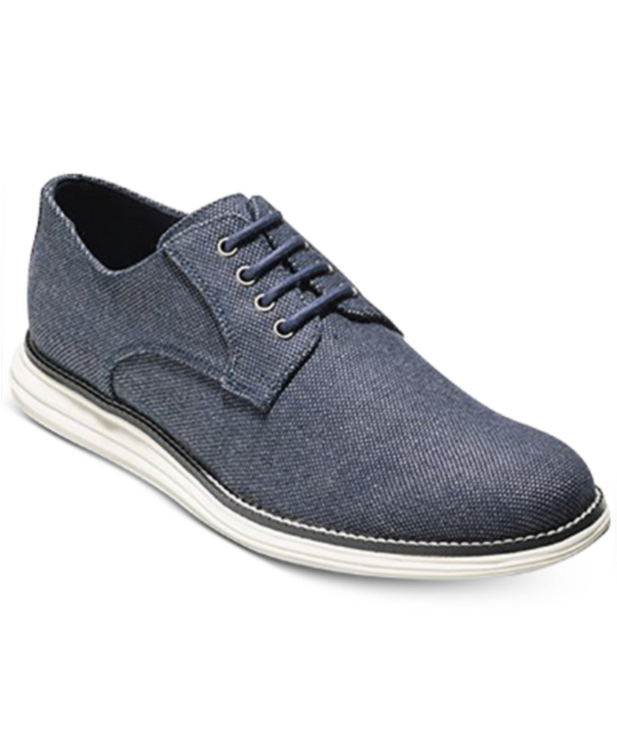 Cole Haan  Men's Original Grand Plain-Toe Canvas Oxfords