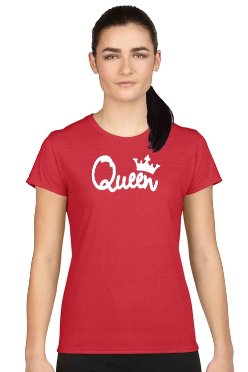 Women's Juniors T Shirt Bow Down To the Queen Graphic Tee