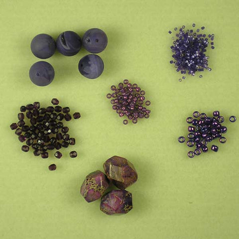 Acai-themed beads from www.beadstampede.co.uk