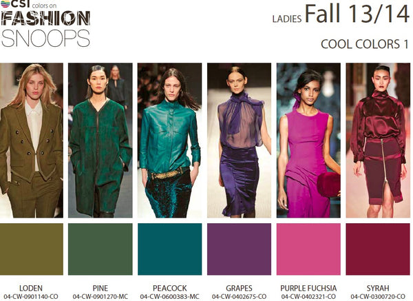 Colour Solutions International Ladies Fall 13/14 Cool Colours 1