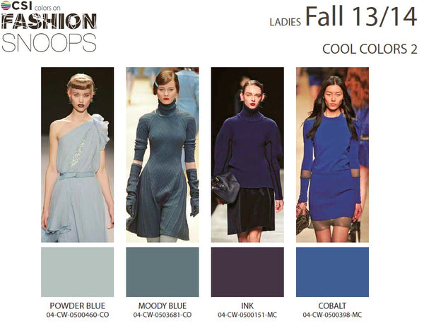 Colour Solutions International Ladies Fall 13/14 Cool Colours 2