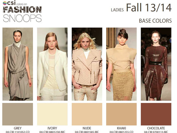 Colour Solutions International Ladies Fall 13/14 Base Colours