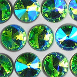 Glass Rivoli beads from Bead Stampede