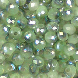4mm Glass Rondelle beads from Bead Stampede