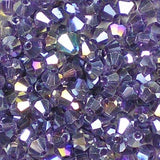 3mm Glass Bicone beads from Bead Stampede