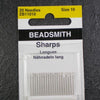 Beadsmith Size 10 Short Sharp Beading Embroidery Needles
