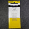 Beadsmith Size 11 Short Sharp Beading Embroidery Needles