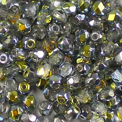 Crystal Marea - 3mm Czech Fire-Polished Beads