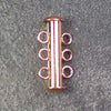 Three-Strand Copper-Plated Tube Slide Clasp