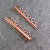 Five-Strand Copper-Plated Tube Slide Clasp