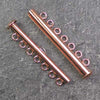 Seven-Strand Copper-Plated Tube Slide Clasp
