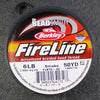 FireLine 6lb Beading Thread Smoke – 50 yards