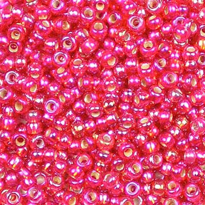 11-1010 Silver-Lined Flame Red AB - Miyuki 11/0 Seed Beads