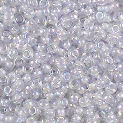 11-2211 Pale Violet-Lined Crystal AB - Miyuki 11/0 Seed Beads