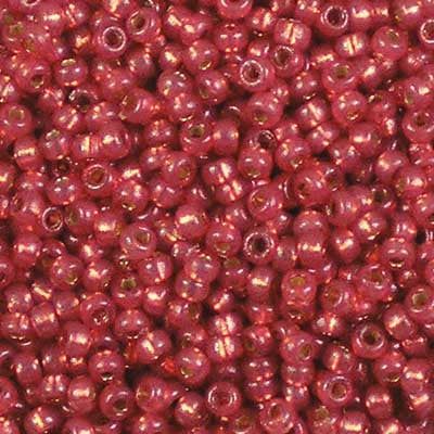 11-4234 Duracoat Silver-Lined Watermelon - Miyuki 11/0 Seed Beads