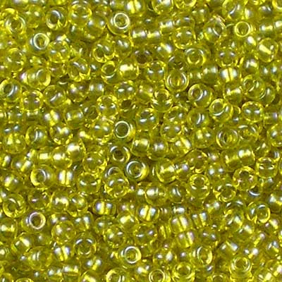 11-FL3530 Fancy Lined Olive - Miyuki 11/0 Seed Beads